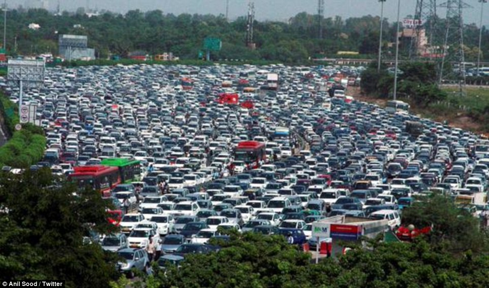 gurgaon-traffic